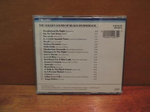 cd the golden sound of klaus wunderlich