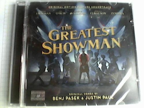 cd the greatest showman varios, wmm, soundtrack, nuevo