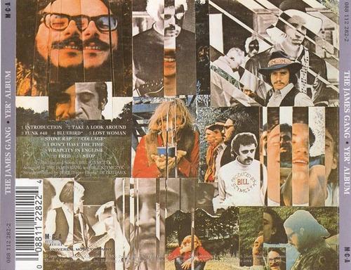 cd the james gang - yer' album (importado) remaster