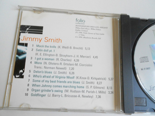 cd the jazz masters - jimmy smith