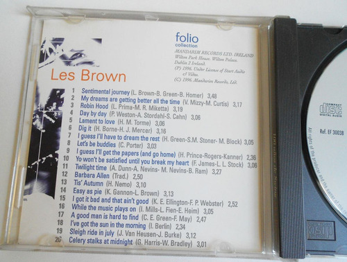 cd the jazz masters - les brown