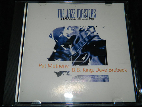 cd the jazz masters pat metheny bb king dave brubeck