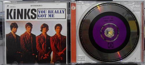 cd the kinks - kinks - 1964 - uk - impecável - raro