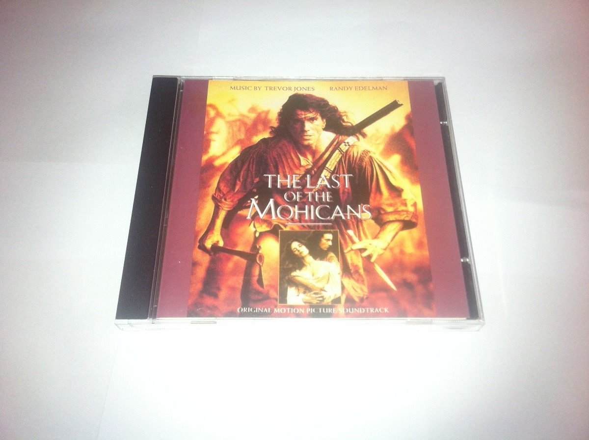 Cd - The Last Of The Mohicans - 1992 - Soundtrack - Novo