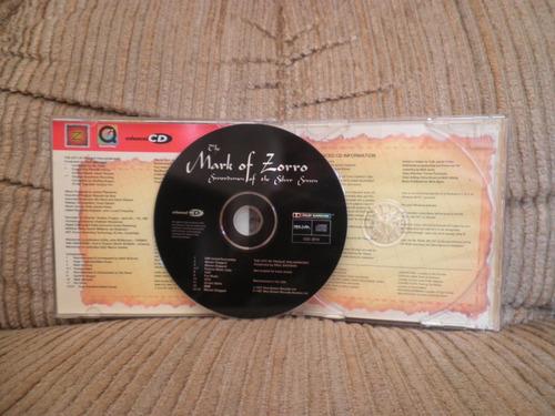 cd the mark of zorro swordsmen of the silver screen importad