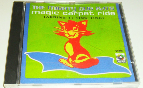 cd the mighty dub kats / magic carpet ride single