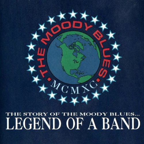 cd the moody blues. legend of a band.