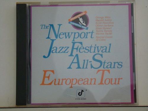 cd - the newport jazz festval all stars - european tour