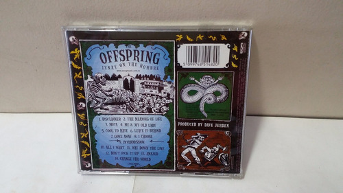 cd the offspring ixnay on the hombre 1997 frete 9,00