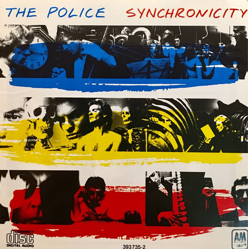 cd the police synchronicity sting
