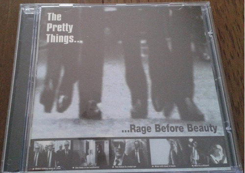 cd - the pretty things - rage before beauty - novo