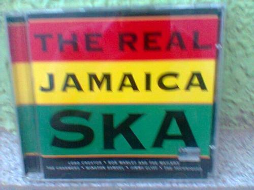 cd the real jamaica ska - 2001  - impecável  (frete grátis)