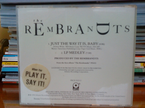 cd the rembrandts - just the way it is, baby - single