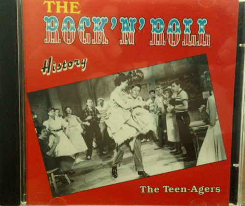 cd  the rock 'n' roll history - the teen-agers -  b277