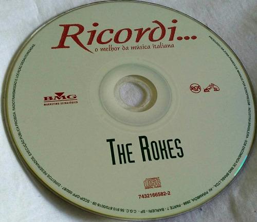 cd the rokes (ricordi o melhor da música italiana)