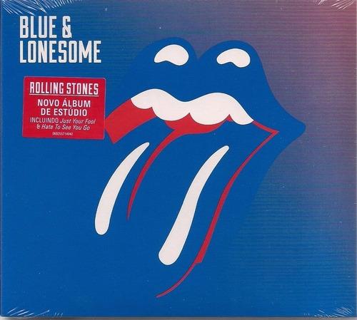 cd the rolling stones - blue e lonesome original lacrado