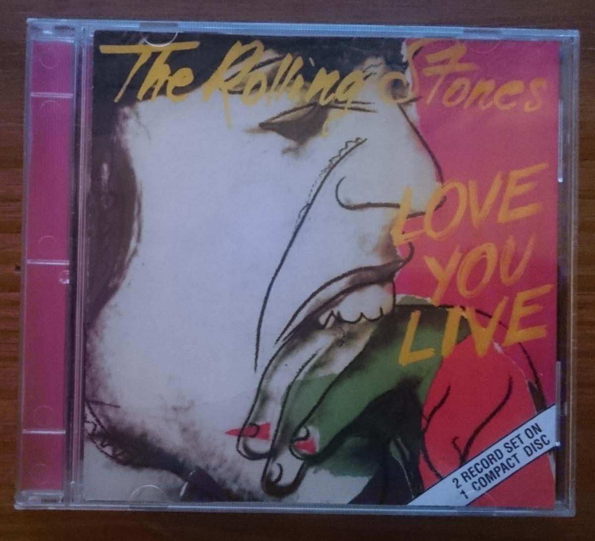 Cd The Rolling Stones - Bootleg Australia Love You Live