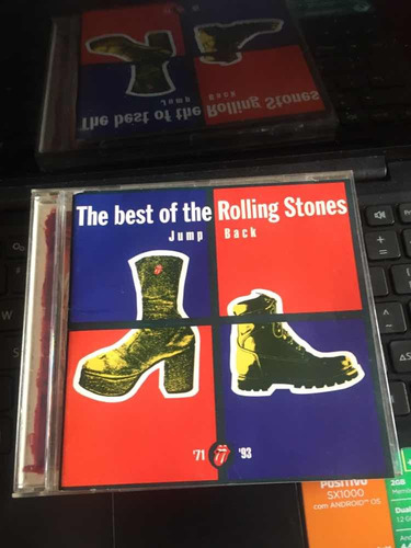 cd - the rolling stones jump back the best