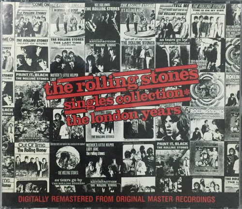 cd the rolling stones singles collection the london years