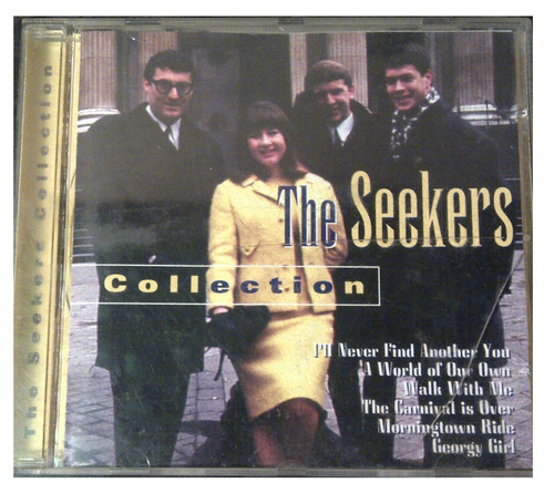 cd - the seekers - the collection - 1998 - original