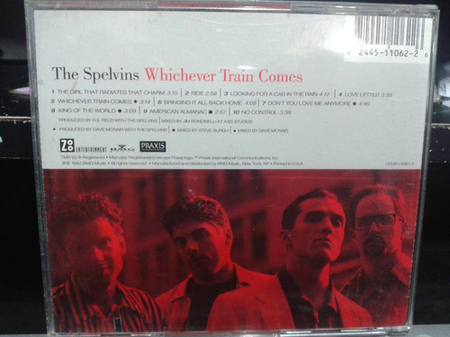 cd - the spelvins - whichever train comes (promoção)