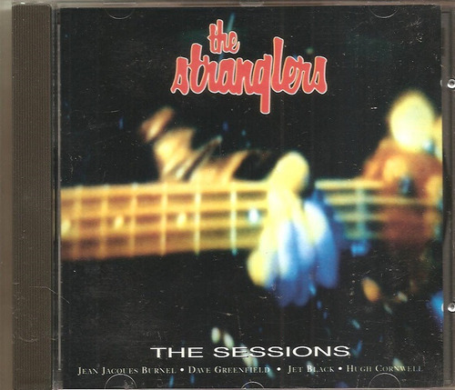 cd the stranglers - the sessions - pos punk rock, new wave