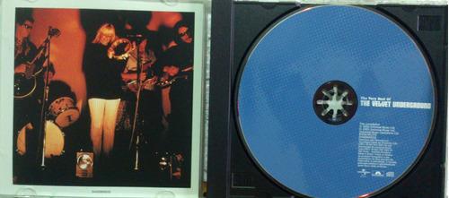 cd the velvet underground - the very best of - ( lou reed )