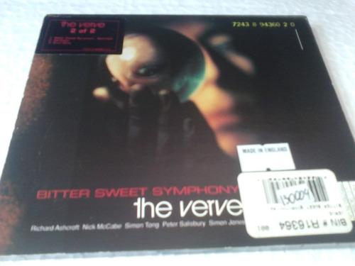 cd the verve bitter sweet symphony single 1997