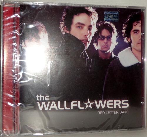cd the wallflowers - red letter days - promoção apenas 1 un.