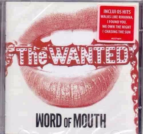 cd the wanted - word of mouth (lacrado)