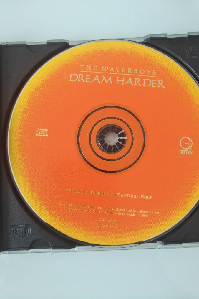 Cd The Waterboys Dream Harder R 25 90 Em Mercado Livre