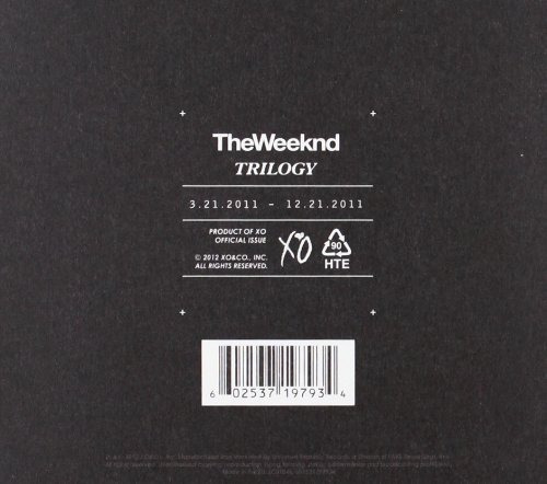 cd : the weeknd - trilogy