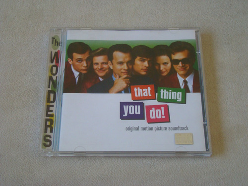 cd - the wonders - that thing you do