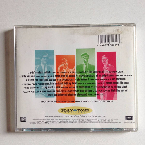 cd the wonders that thing you do
