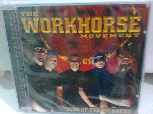 cd the workhorse  / sons of the.... =lacrado=   frete gratis