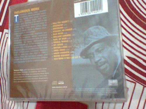 cd thelonious monk / ken burns jazz - lacrado- frete grátis