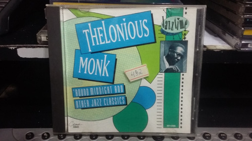 cd - thelonious monk -round midnight and other jazz classics