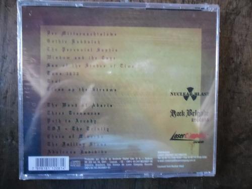 cd  therion - gothic kabbalah  novo lacrado