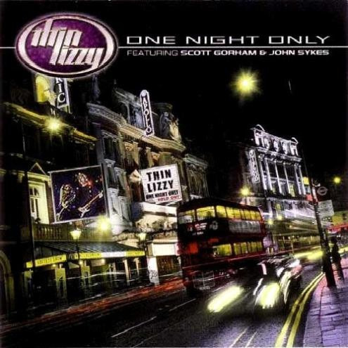 cd thin lizzy - one night only