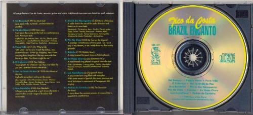 cd tico da costa - brazil encanto - 1990 - importado