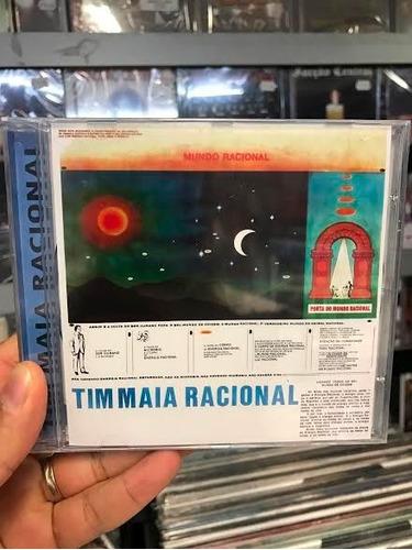 cd tim maia racional vol. 1 e vol. 2 os dois volumes em 1 cd