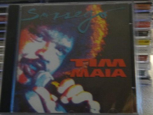 cd - tim maia - sossego - raro