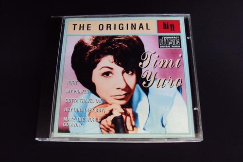cd timi yuro - the original 18 hits  (importado)