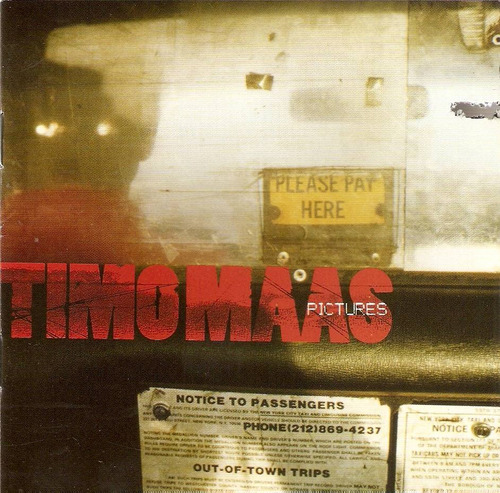 cd timo maas - pictures - novo***