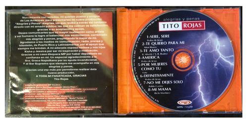 cd - tito rojas - alegrias y penas - 1999 - original