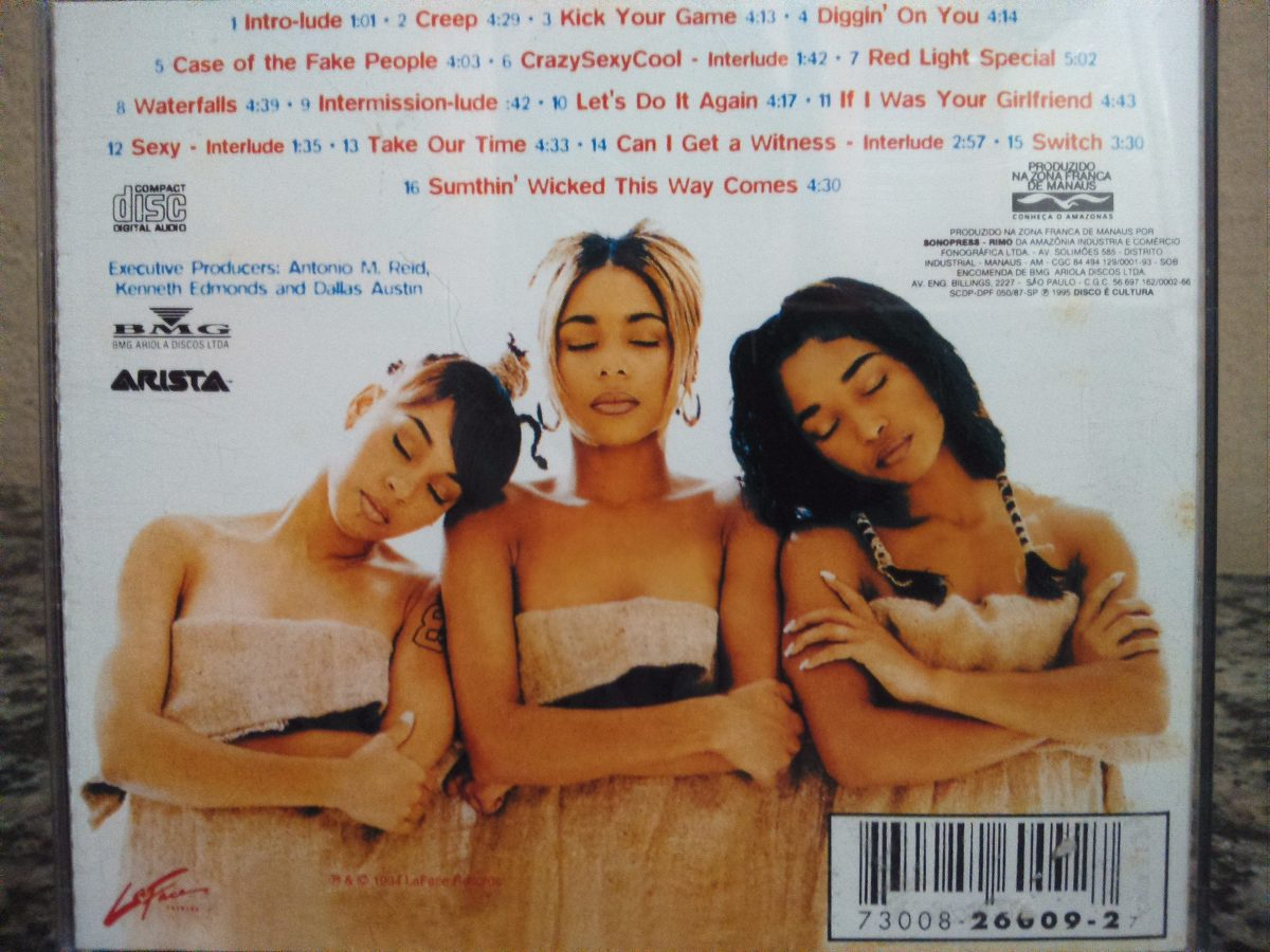 Tlc crazysexycool full album