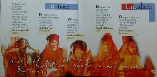 cd t.n. slam - burning  ( frete r$ 8,00 )