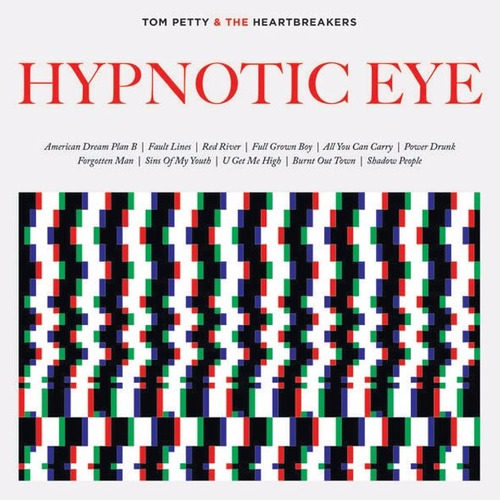 cd - tom petty - hypnotic eye