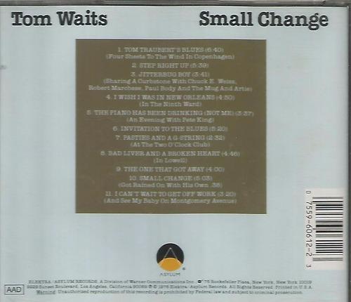 cd - tom waits - small change - imp