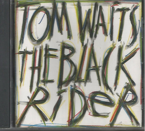 cd - tom waits - the black rider - imp